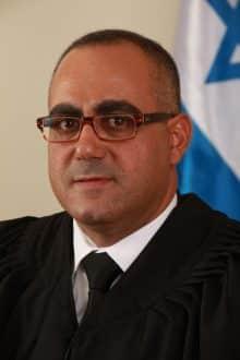 השופט מוחמד עלי. צילום: אתר בתי המשפט