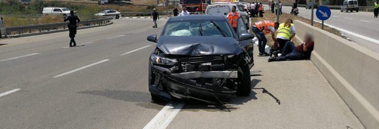 למעסיק לא היה אינטרס. תאונת דרכים. צילום: דוברות המשטרה