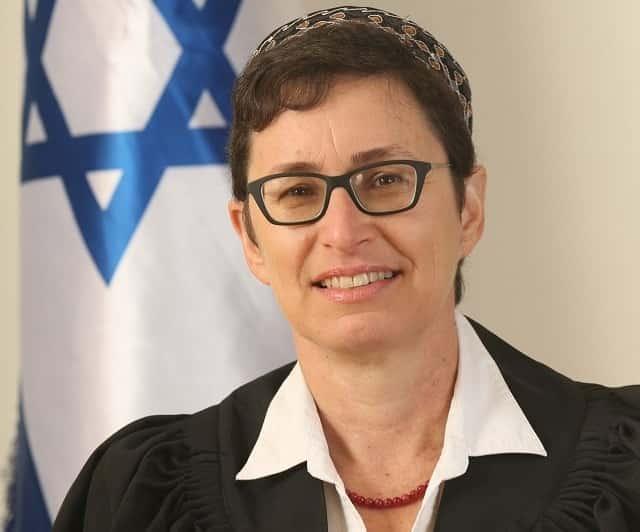 השופטת מוריה צ'רקה. צילום: אתר בתי המשפט