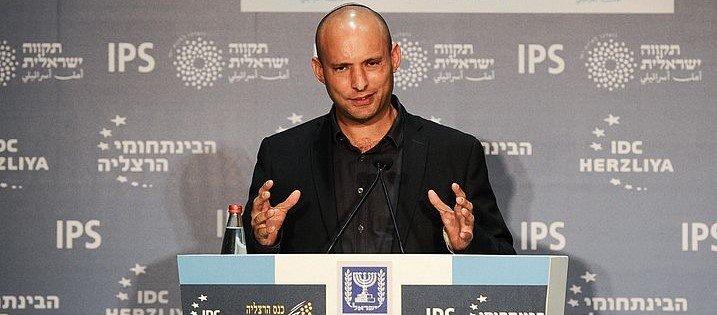 """""""המפלגה מתעללת בי"""". יו""""ר הבית היהודי נפתלי בנט. צילום: עדי כהן צדק"""