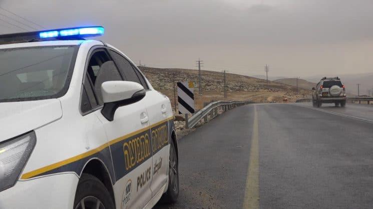 """מהירות של 182 קמ""""ש. צילום: דוברות המשטרה"""