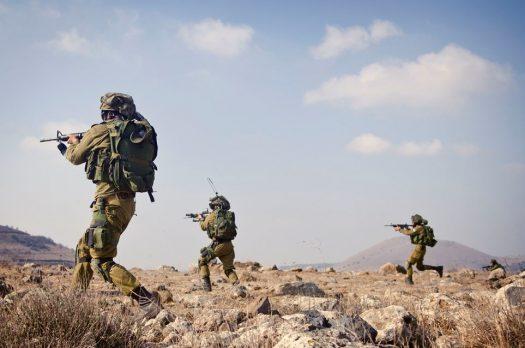 """לא אפיזודה חולפת. חיילים באימון. צילום: דובר צה""""ל"""
