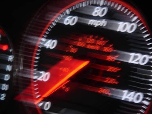 קנס בלבד על מהירות מופרזת - אילוסטרציה
