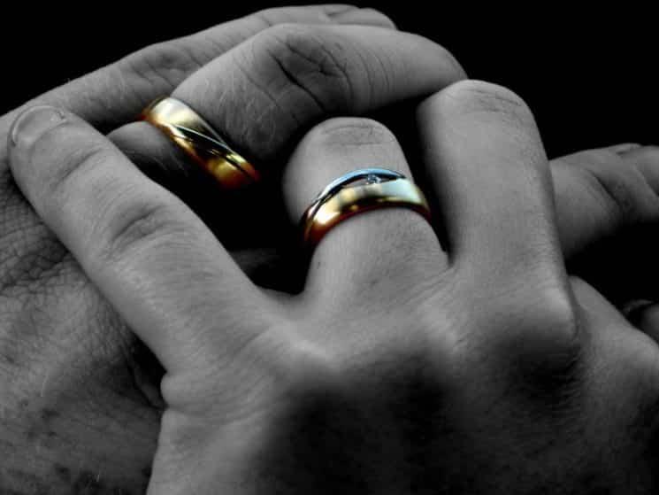 טבעות נישואין נישואים