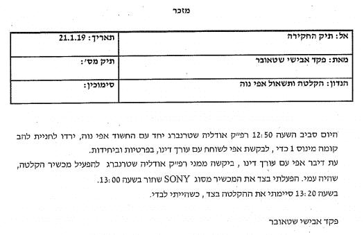 """האם משטרת ישראל הפרה חיסיון עו""""ד לקוח בתיק אפי נווה?"""