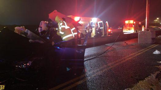 שלושה בני אדם נהרגו הלילה בשתי תאונות דרכים בכביש 4 ליד יבנה ובנתיבי איילון