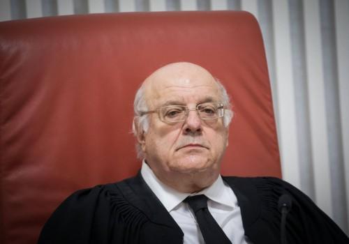 """דרישה: """"לא למנות את שופט העליון לשעבר מלצר לנשיא מועצת העיתונות"""""""