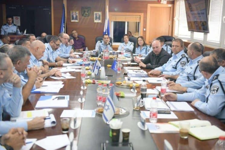 סגל הפיקוד משטרה קורונה ניצב מוטי כהן