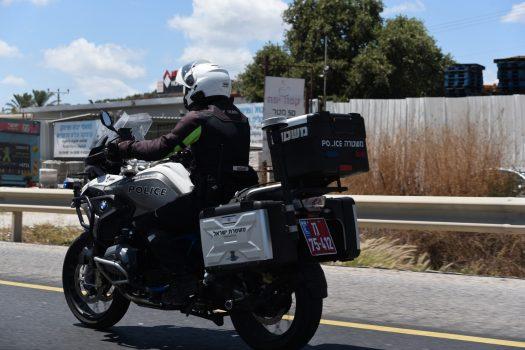 משטרת ישראל אופנוע שוטר משטרה תנועה