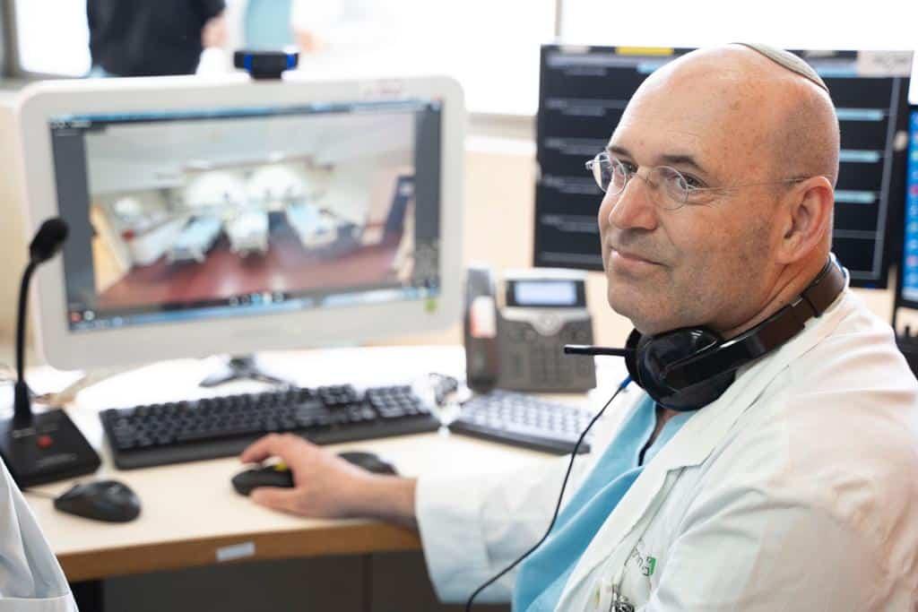 """מחלקה ייעודית לחולי קורונה נפתחה בבי""""ח השרון"""