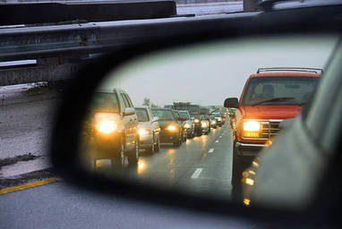 פקק תנועה מכוניות תעבורה