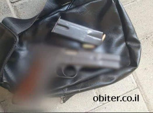 האקדח שנתפס
