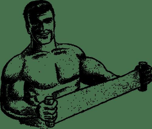 שרירן שרירים אימון כוח
