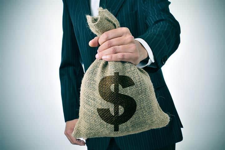 פשיעה כלכלה שק כסף