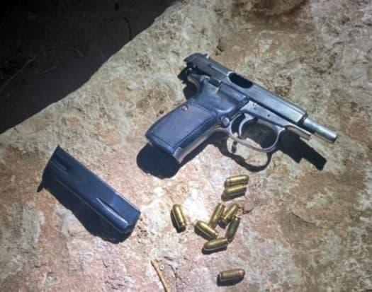 העבריין דוד קריחלי נעצר חמוש באקדח בתום מרדף משטרתי