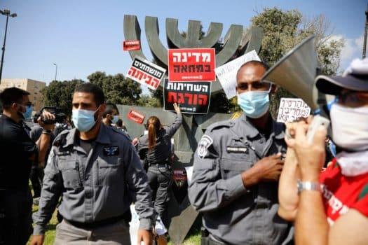 """אושר סופית: הממשלה תוכל להגביל הפגנות """"בגלל הקורונה"""""""