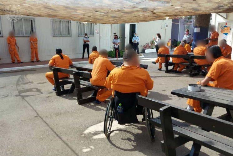 """בית ספר בכלא כלא שב""""ס"""