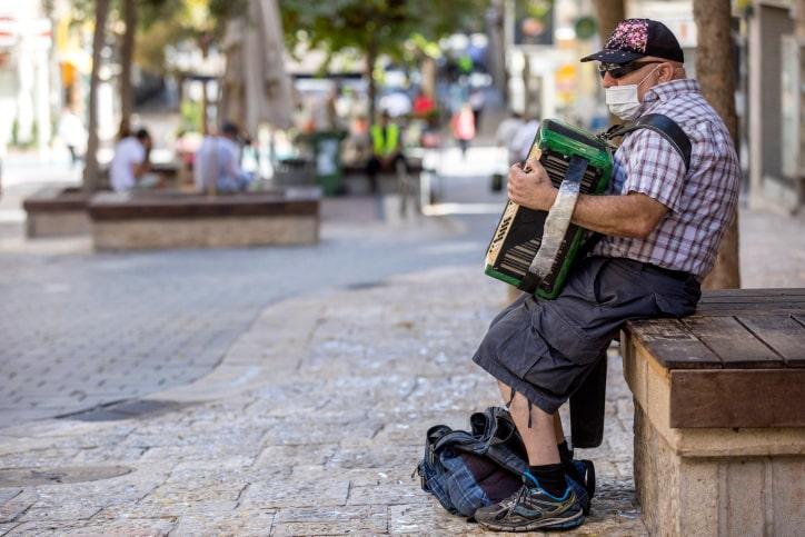 קורונה אקורדיאון ירושלים