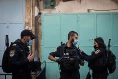 כוחות הביטחון בהר הבית בשבוע שעבר, צילום: פלאש 90 משטרה