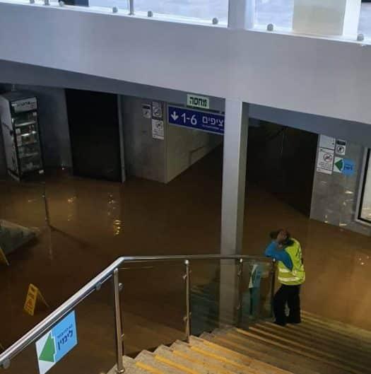 צפו: הצפות ולכודים בעקבות הסערה