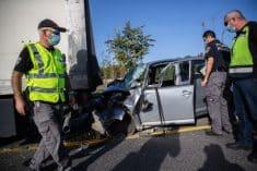 התאונה ליד לטרון בה נהרגו שני האחים