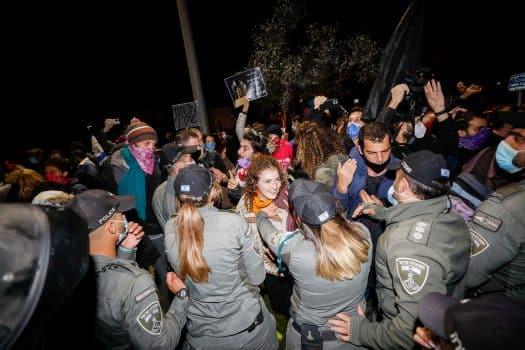הפגנה בלפור ירושלים בנימין נתניהו ראש הממשלה 5 דצמבר 2020