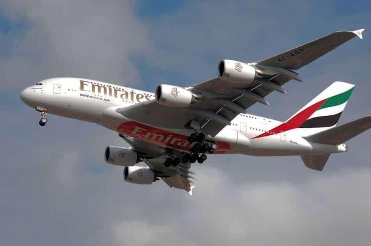 מטוס תעופה אמריטס EMIRATES