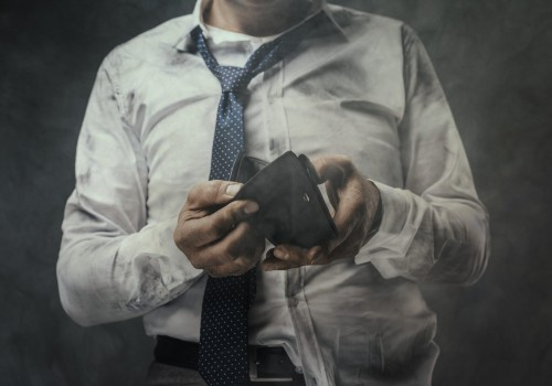 פשיטת רגל אין כסף חדלות פירעון