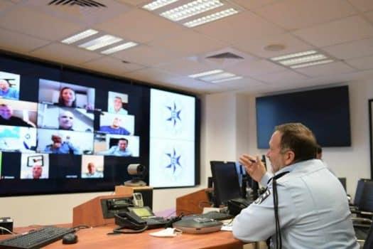 """על רקע הפיצוץ בדלהי: המפכ""""ל שוחח עם נציגי המשטרה ברחבי העולם"""