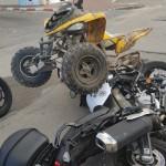 רוכב הטרקטורון פגע ב-2 שוטרים במהלך מרדף - אך שוחרר ללא תנאים