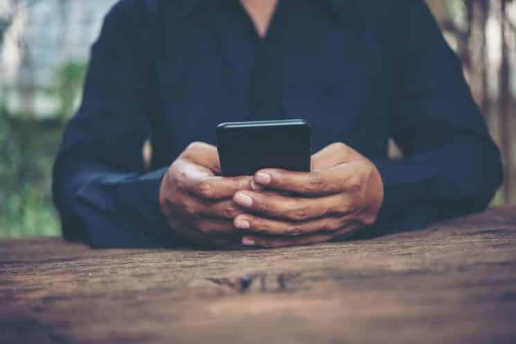 טלפון נייד סמארטפון מכשיר הודעות מסרון אפליקציה