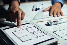 אדריכלות הנדסה שרטוט בית דירה בניין משותף