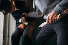 דקירה סכין תקיפה אלימות קטטה מכות מריבה ריב