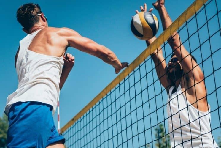 משחק כדור כדור עף כדורעף