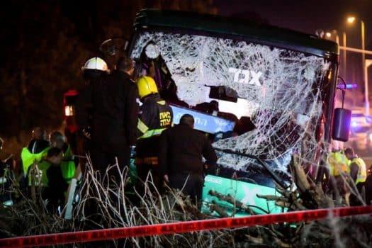 4.5 שנות מאסר לנהג אוטובוס שגרם למותם של 4 נוסעים