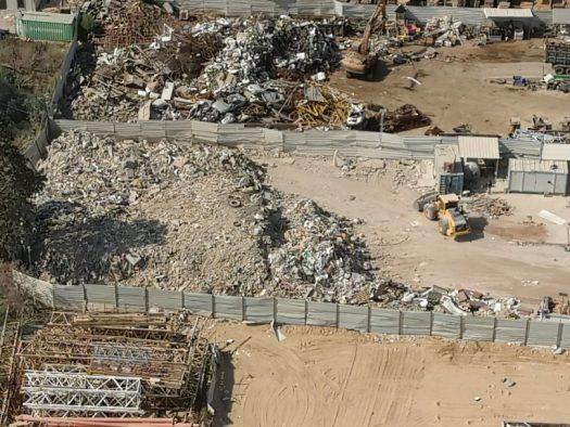 צפו בתיעוד: פשיטה על אתר פסולת פיראטי